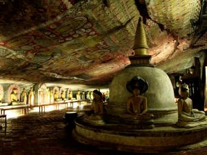 Rock Cave Temple at Dambulla